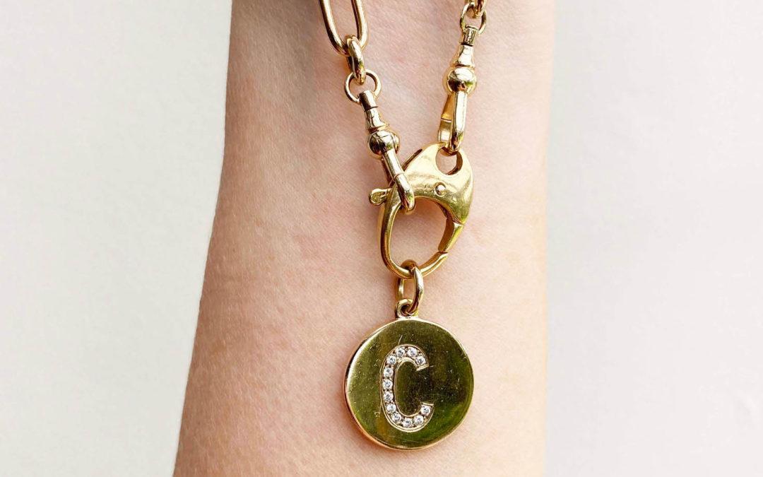 Custom – handmade 'everyday' chain bracelet